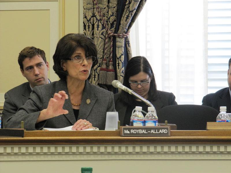 Congresswoman Lucille Robyal-Allard